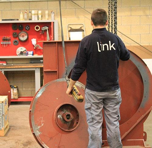 reparación maquinaria industrial